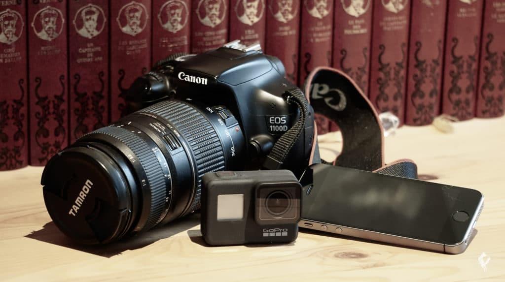 matériel pour filmer analyse vidéo chien